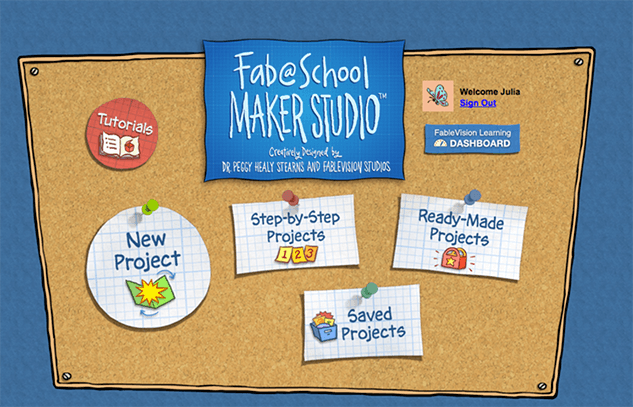 Fablevision MakerStudio Screenshot