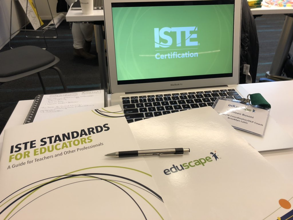 ISTE Certification Online Program